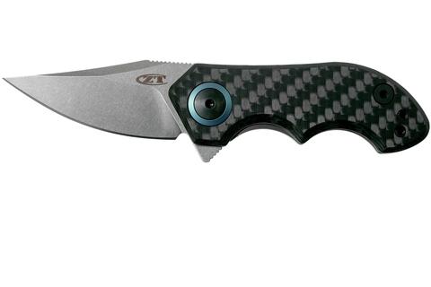 Складной нож Zero Tolerance 0022, сталь CPM-20CV, рукоять титан/карбон. Вид 1