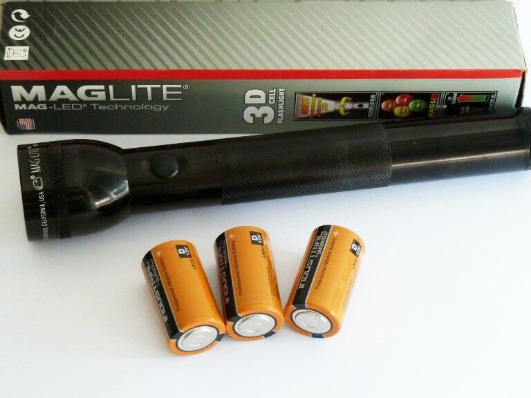 Фото 5 - Фонарь Mag-Lite 3D LED ST3D015E