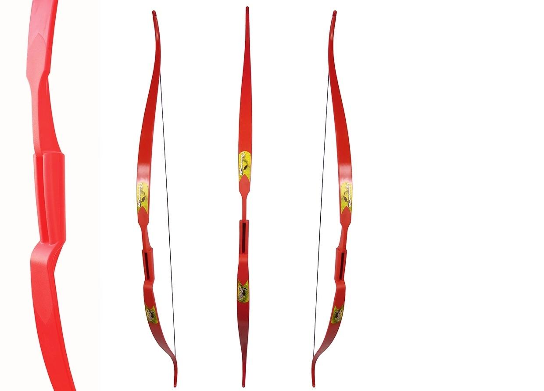 Лук традиционный Rolan Snake 60 22# (красный)