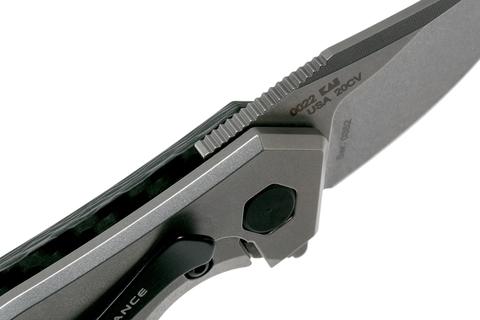 Складной нож Zero Tolerance 0022, сталь CPM-20CV, рукоять титан/карбон. Вид 6