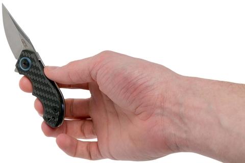 Складной нож Zero Tolerance 0022, сталь CPM-20CV, рукоять титан/карбон. Вид 8
