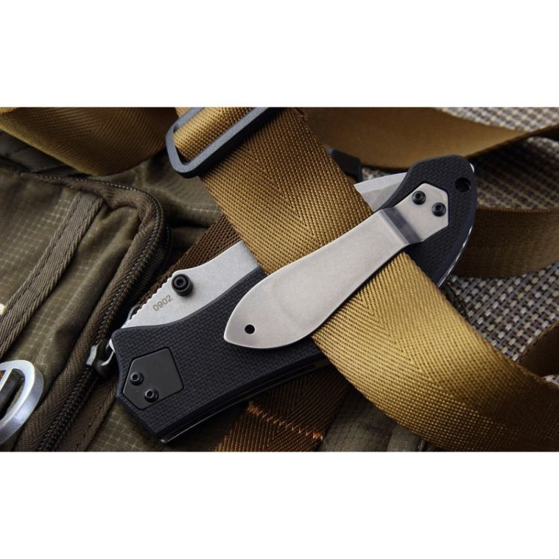 Фото 10 - Складной нож Gen 2 Resurrection - Boker Plus 01BO412, лезвие сталь 440C Stonewash, рукоять стеклотекстолит G-10
