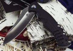 Складной нож Шакс, черный, фото 3