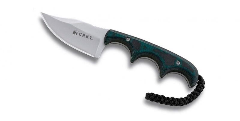 Фото 5 - Нож с фиксированным клинком Minimalist Bowie от CRKT