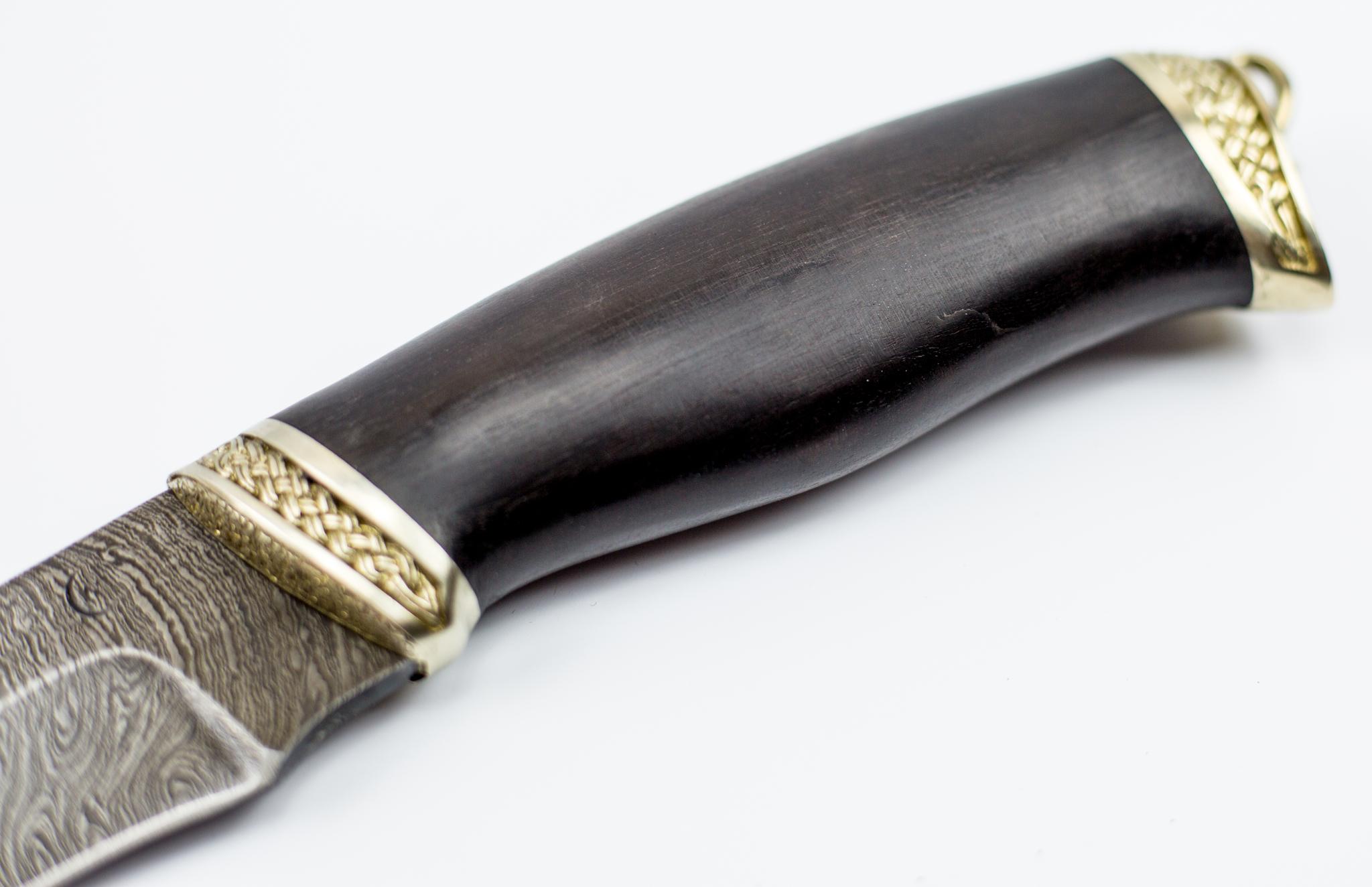 Фото 9 - Нож из дамасской стали