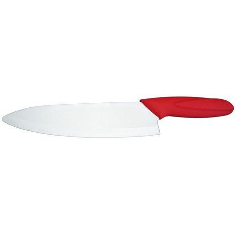 Нож керамический кухонный японский SAME Chef 7, красный - Nozhikov.ru