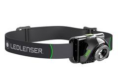Фонарь светодиодный налобный LED Lenser MH6, черный, 200 лм, аккумулятор, фото 3
