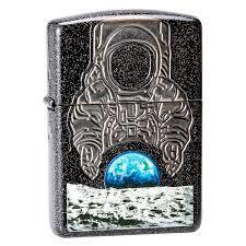 Зажигалка ZIPPO Armor™ с покрытием Galaxy Stardust, латунь/сталь, чёрная, глянцевая, 36x12x56 мм