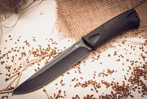 Тактический нож Yagnob, набедренный - Nozhikov.ru