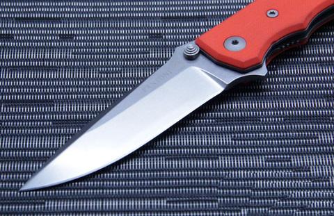 Нож складной Fantoni, HB01, William (Bill) Harsey Design-2, FAN/HB01SwOr, сталь CPM-S30V, рукоять стеклотекстолит G-10. Вид 4