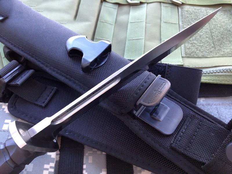 Фото 4 - Нож с фиксированным клинком Extrema Ratio MK2.1 Satin, сталь Bhler N690, рукоять термопластик