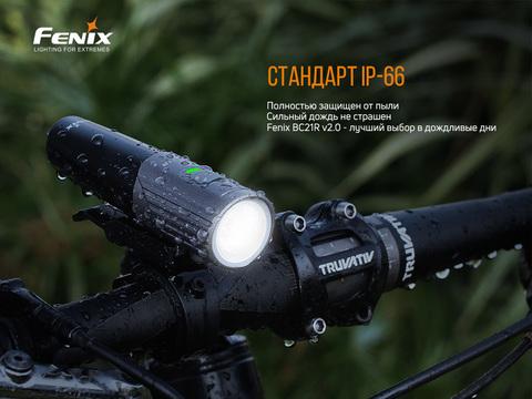 Велофара Fenix BC21R V2.0. Вид 17
