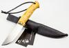 Нож Шмель, сталь D2, карельская береза - Nozhikov.ru