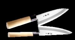 Нож Деба Narihira Tojiro, 180 мм, сталь AUS-8, рукоять дерево, фото 1