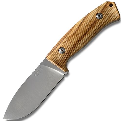 Фото - Нож M3, Satin Finish Niolox Steel, Olive Wood Handle от Lion Steel