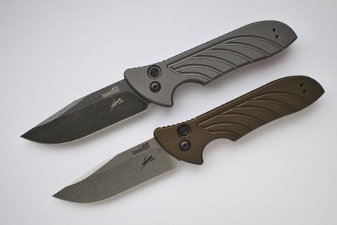 Складной автоматический нож Kershaw Launch 5 K7600OL, сталь CPM 154, рукоять алюминий. Вид 8