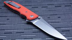 Нож складной Fantoni, HB01, William (Bill) Harsey Design-2, FAN/HB01SwOr, сталь CPM-S30V, рукоять стеклотекстолит G-10, фото 5