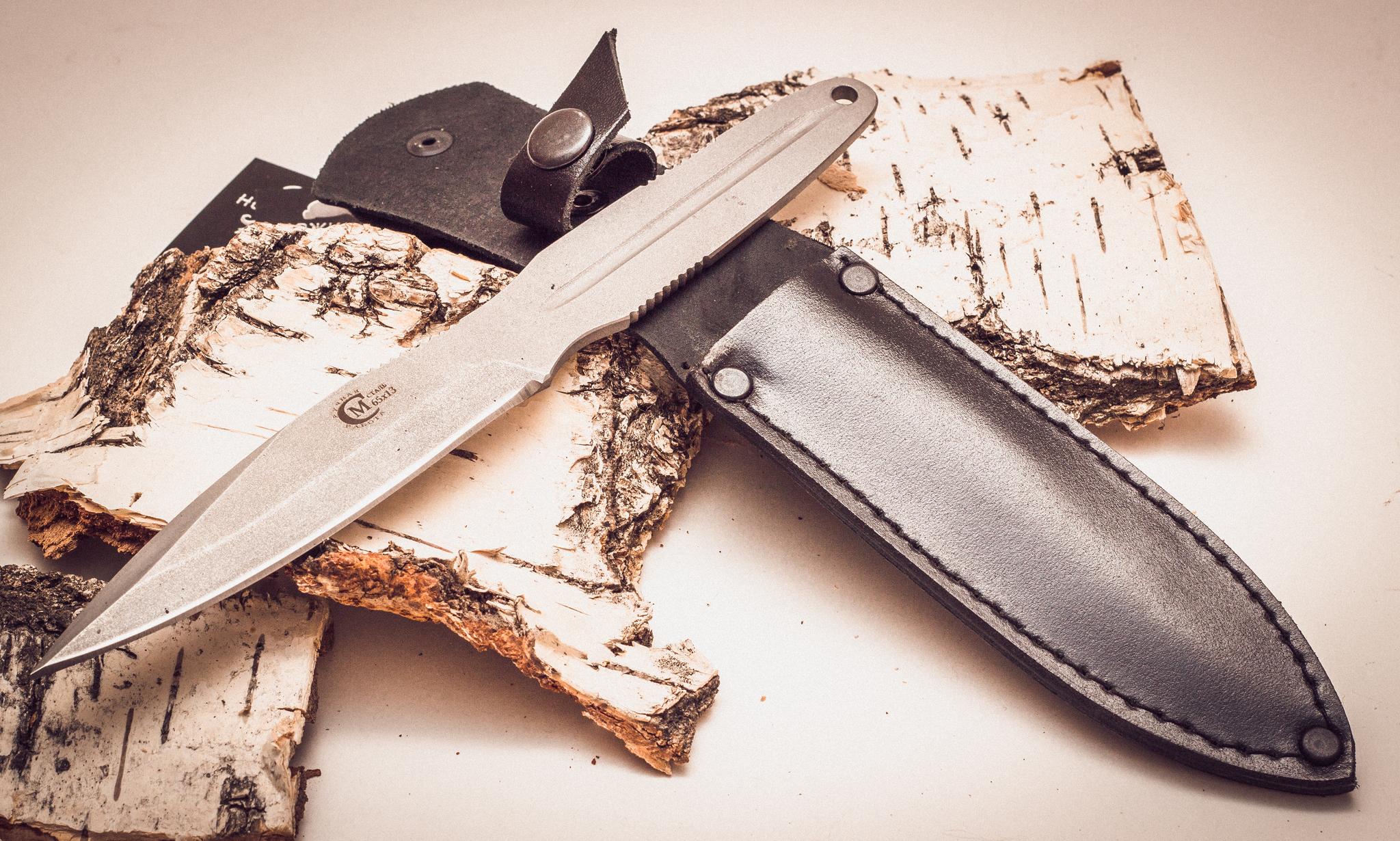 Фото 11 - Нож метательный «Удар», из нержавеющей стали 65х13