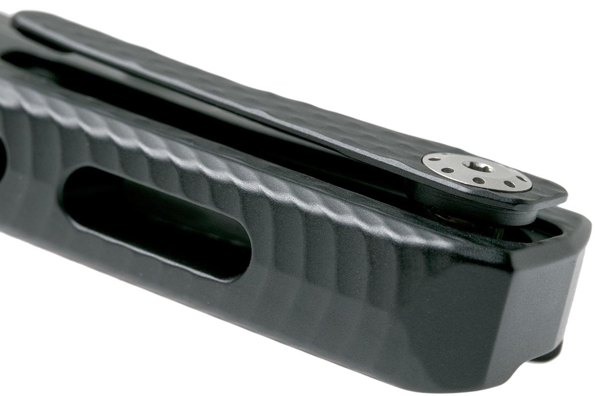 Фото 7 - Нож складной LionSteel ROK A BS, сталь Satin Finish Bhler M390, рукоять алюминий, чёрный от Lion Steel