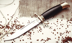 Нож Финка НКВД, ков. 95х18, латунь