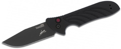 Складной автоматический нож Launch 5, черный, сталь CPM-154