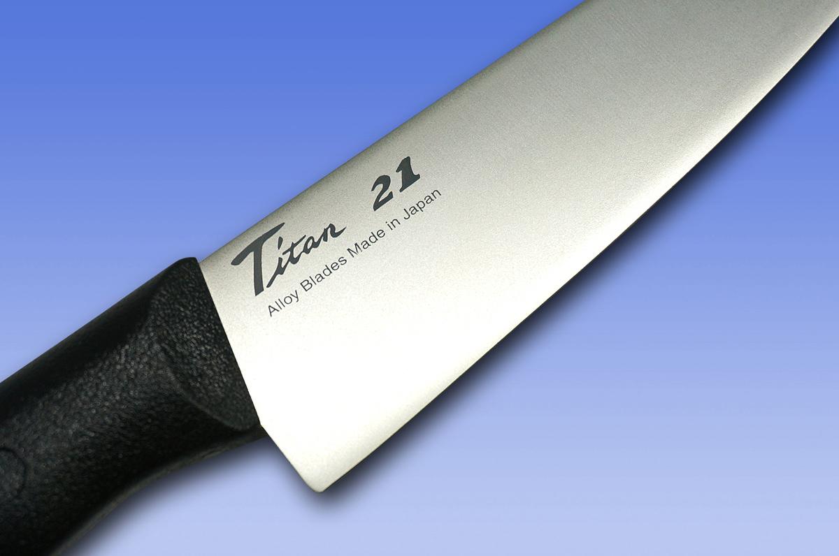 Фото 5 - Нож Кухонный Универсальный Titanium, Forever, GRT-16, Титан, в коробке от Tojiro