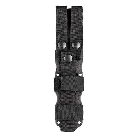 Нож с фиксированным клинком Hogue EX-F02 Black Clip Point, сталь A2 Tool Steel, рукоять термопластик GRN. Вид 4
