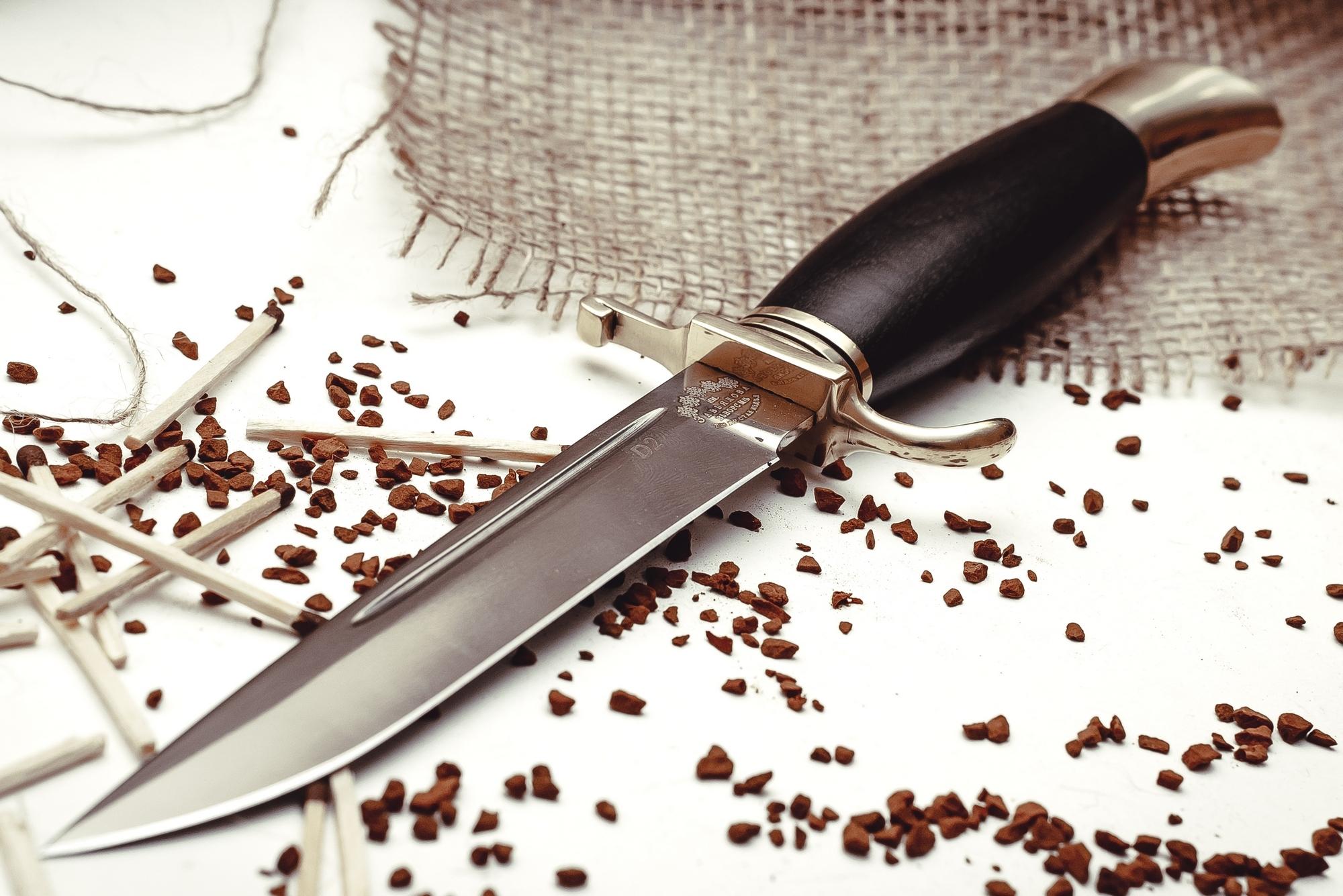 Фото 6 - Нож Финка НКВД, D2 от Кузница Завьялова