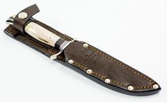 Нож Финка НКВД, сталь K340, рукоять рог, фото 3