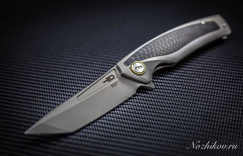 Складной нож Bestech Predator BT1706B, сталь CPM-S35VN, рукоять титан