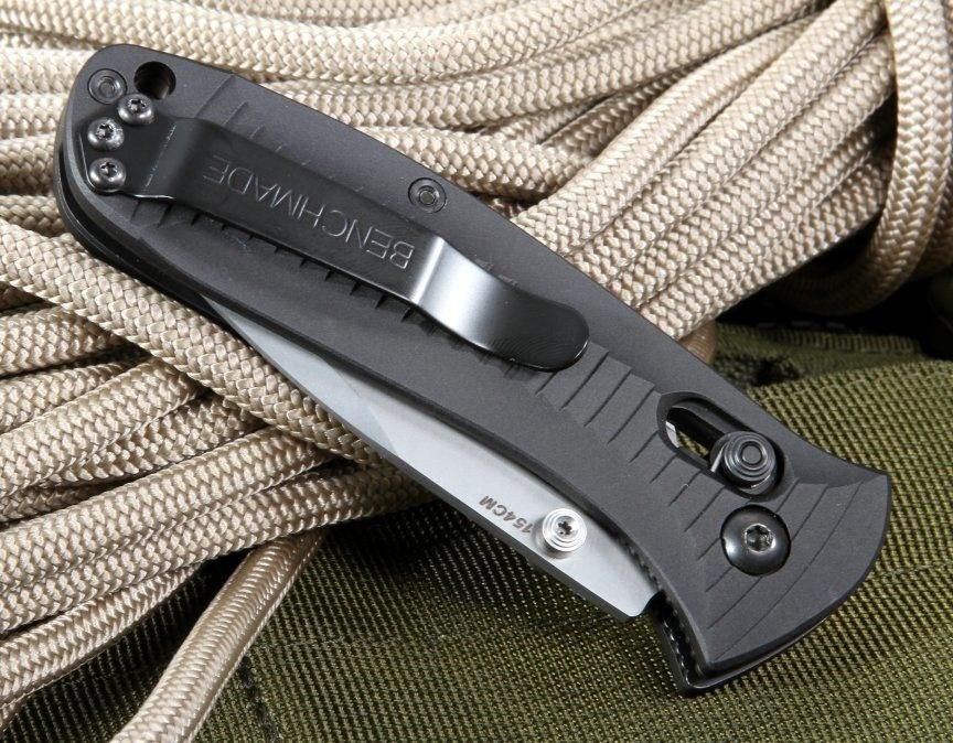 Фото 9 - Нож складной Benchmade 520 Presidio, сталь 154CM, рукоять алюминий