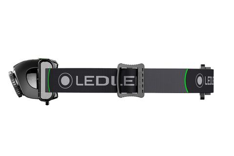 Фонарь светодиодный налобный LED Lenser MH6, черный, 200 лм, аккумулятор. Вид 4