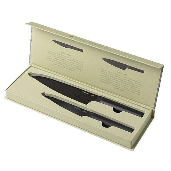 Набор ножей Ron BergHOFF, 2 прибора, 3900070, сталь X30Cr13, нержавеющая