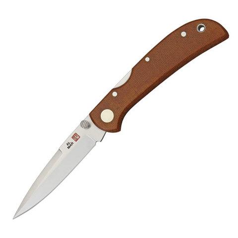 Нож складной Al Mar Eagle Ultraligh, сталь VG-10 / Laminated 420J2 Talon, рукоять микарта