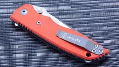 Нож складной Fantoni, HB01, William (Bill) Harsey Design-2, FAN/HB01SwOr, сталь CPM-S30V, рукоять стеклотекстолит G-10, фото 9