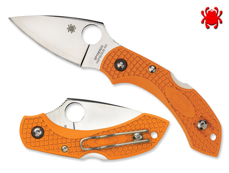 Нож складной Dragonfly 2 Limited Edition, Burnt Orange Handle, HAP40 High-Speed Steel /Laminated SUS 410