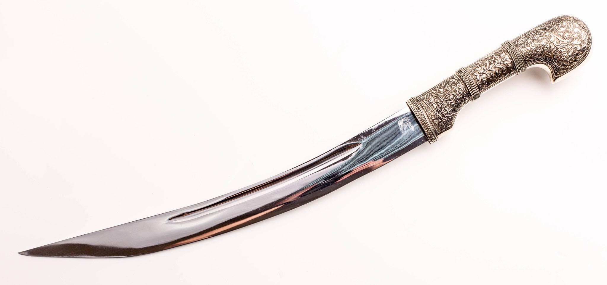 Ятаган сувенирный Янычар, кожа яигрушка ятаган