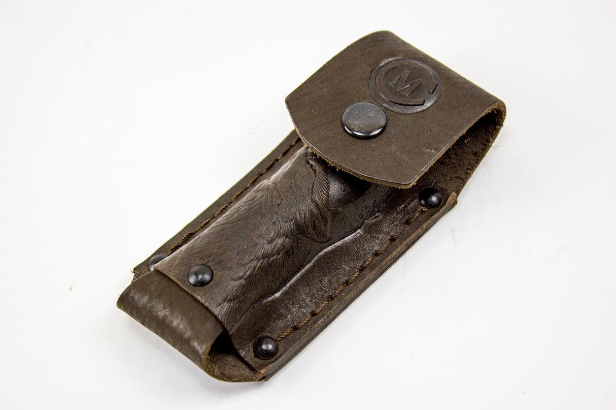 Фото 10 - Кожаный чехол для складного ножа, 125 мм от Кузница Семина