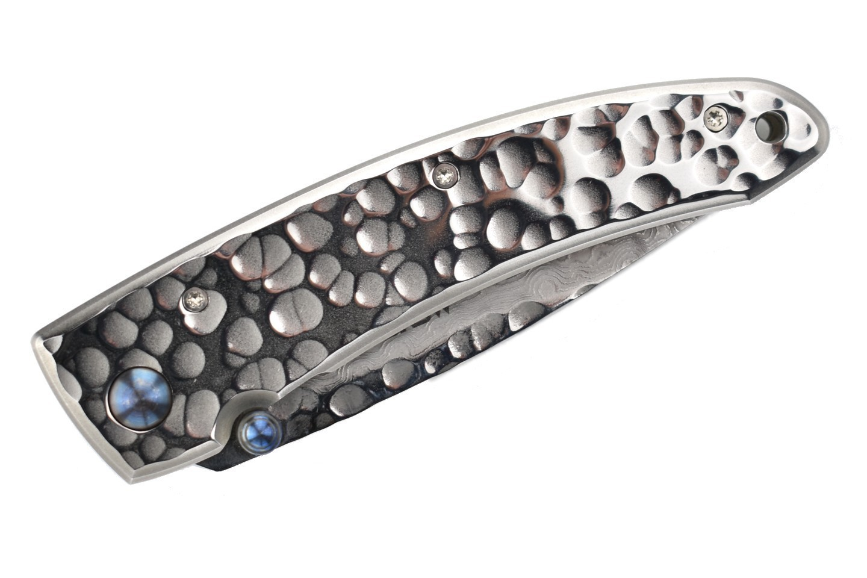 Фото 10 - Складной нож Mcusta Tsuchi MC-114D, сталь VG-10 в обкладах из дамаска, рукоять 420J2