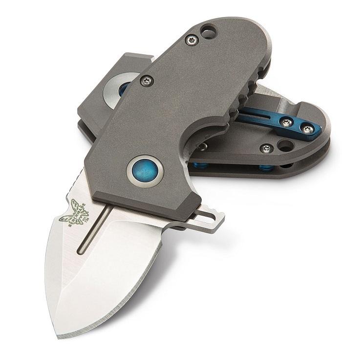 Фото 8 - Нож складной Benchmade Micro Pocket Rocket (mPR™) 756, титан, сталь CPM-20CV, рукоять титан