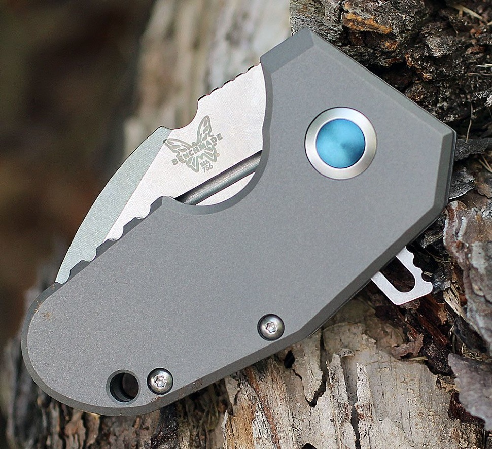 Фото 11 - Нож складной Benchmade Micro Pocket Rocket (mPR™) 756, титан, сталь CPM-20CV, рукоять титан