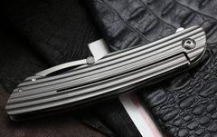 Складной нож CRKT Swindle™, сталь 12C27 Sandvik, рукоять нержавеющая сталь, фото 15