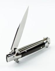 Выкидной нож Флинт, сталь N695