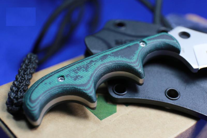 Фото 9 - Нож с фиксированным клинком CRKT Keramin, сталь 5Cr15MoV, рукоять микарта