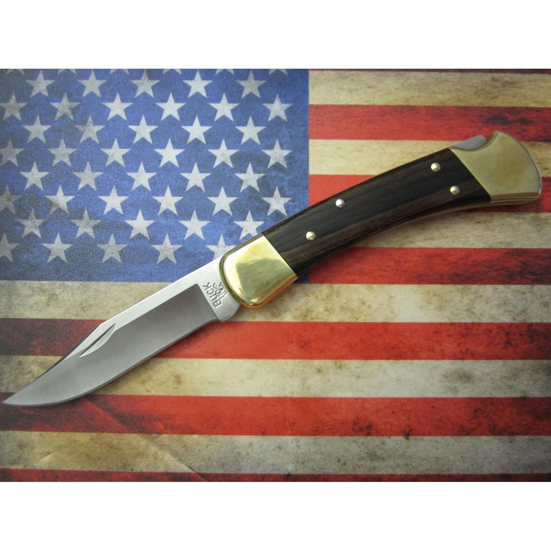 Фото 3 - Складной нож Buck Folding Hunter Rosewood 0110BRS, сталь 420HC, рукоять дерево