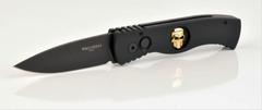 Складной нож TR-2.66 Gold Skull, сталь 154 СМ