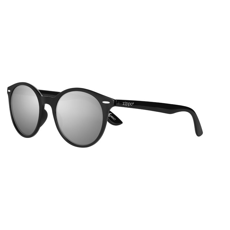Фото - Очки солнцезащитные ZIPPO OB70-01, унисекс, чёрные, оправа из поликарбоната очки солнцезащитные zippo ob70 01 унисекс чёрные оправа из поликарбоната