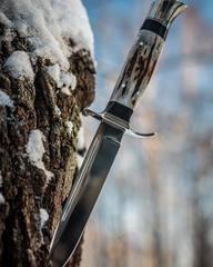 Нож Финка НКВД, сталь K340, рукоять рог, фото 8