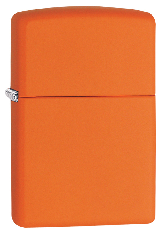 бутылка be first 500ml orange matte Зажигалка ZIPPO Classic с покрытием Orange Matte