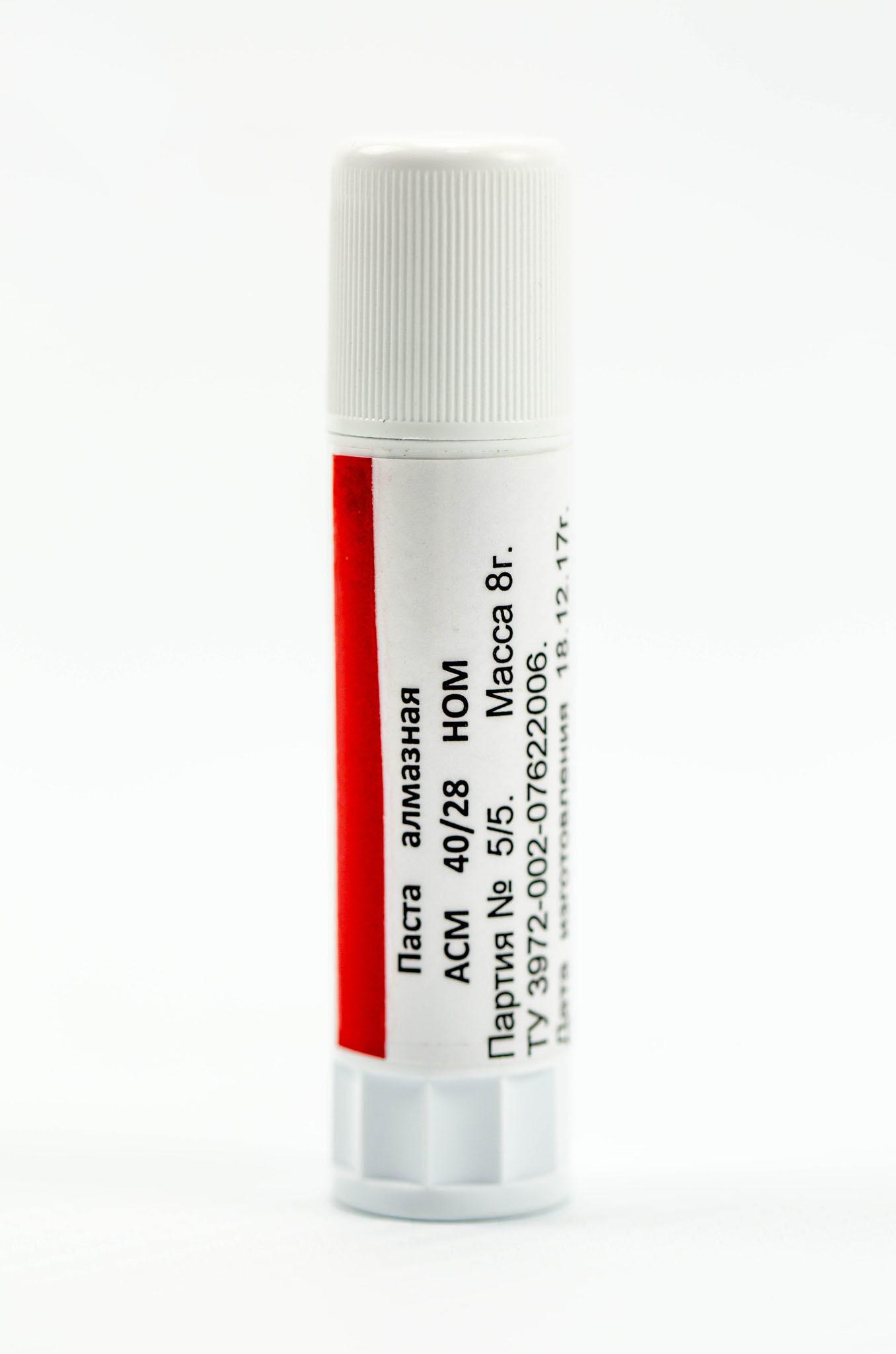 Алмазная паста HOM ACM 40/28, 8 гр. от Веневский  завод алмазных инструментов
